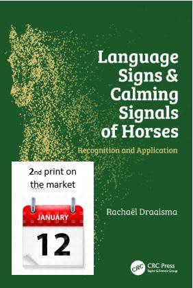 2e Druk Boek Op 12 Januari Op De Markt Calming Signals Of Horses